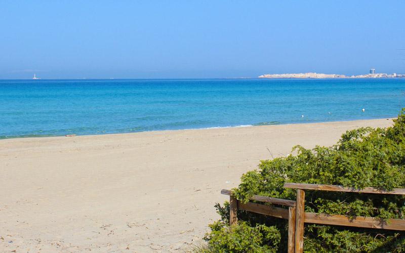 spiaggia baia verde a Gallipoli